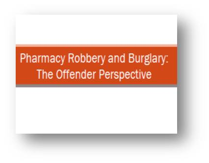 RxPATROL<sup>&reg;</sup> The Offender Perspective
